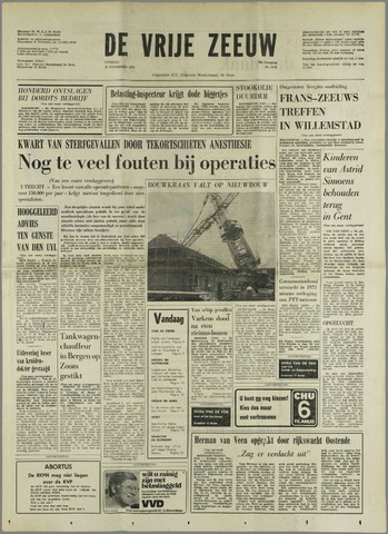 de Vrije Zeeuw 1972-11-28