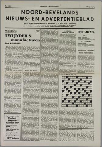 Noord-Bevelands Nieuws- en advertentieblad 1984-08-09