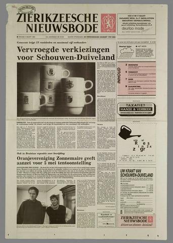 Zierikzeesche Nieuwsbode 1995-03-03