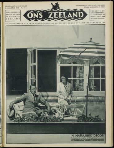 Ons Zeeland / Zeeuwsche editie 1932-08-05