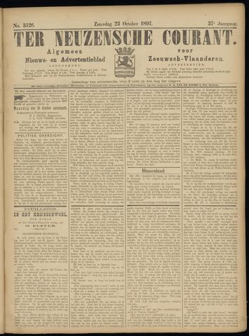 Ter Neuzensche Courant. Algemeen Nieuws- en Advertentieblad voor Zeeuwsch-Vlaanderen / Neuzensche Courant ... (idem) / (Algemeen) nieuws en advertentieblad voor Zeeuwsch-Vlaanderen 1897-10-23