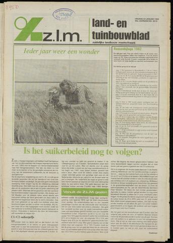 Zeeuwsch landbouwblad ... ZLM land- en tuinbouwblad 1982-01-22