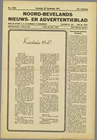 Noord-Bevelands Nieuws- en advertentieblad 1947-12-20