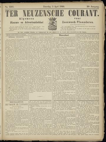 Ter Neuzensche Courant. Algemeen Nieuws- en Advertentieblad voor Zeeuwsch-Vlaanderen / Neuzensche Courant ... (idem) / (Algemeen) nieuws en advertentieblad voor Zeeuwsch-Vlaanderen 1890-04-05