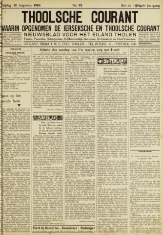 Ierseksche en Thoolsche Courant 1938-08-12