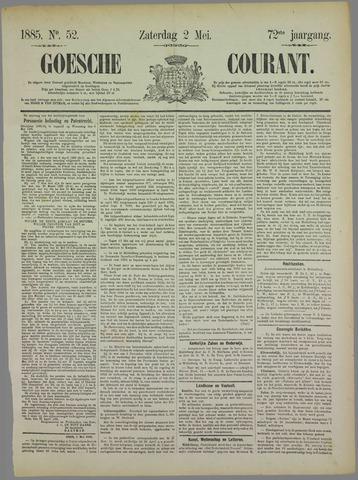 Goessche Courant 1885-05-02
