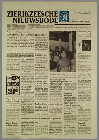 Zierikzeesche Nieuwsbode 1972-11-09