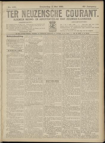 Ter Neuzensche Courant. Algemeen Nieuws- en Advertentieblad voor Zeeuwsch-Vlaanderen / Neuzensche Courant ... (idem) / (Algemeen) nieuws en advertentieblad voor Zeeuwsch-Vlaanderen 1920-05-13