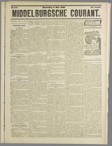 Middelburgsche Courant 1925-05-11