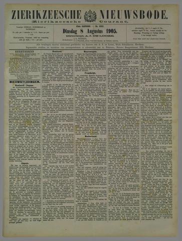 Zierikzeesche Nieuwsbode 1905-08-08