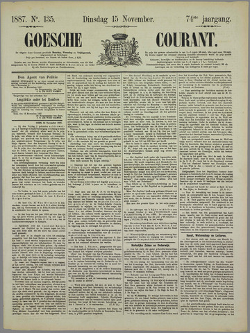 Goessche Courant 1887-11-15