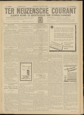 Ter Neuzensche Courant. Algemeen Nieuws- en Advertentieblad voor Zeeuwsch-Vlaanderen / Neuzensche Courant ... (idem) / (Algemeen) nieuws en advertentieblad voor Zeeuwsch-Vlaanderen 1937-05-28