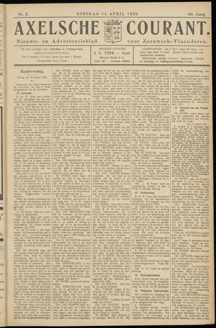 Axelsche Courant 1933-04-11