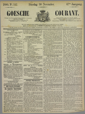 Goessche Courant 1880-11-30