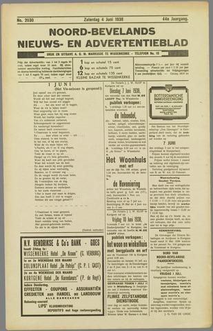 Noord-Bevelands Nieuws- en advertentieblad 1938-06-04