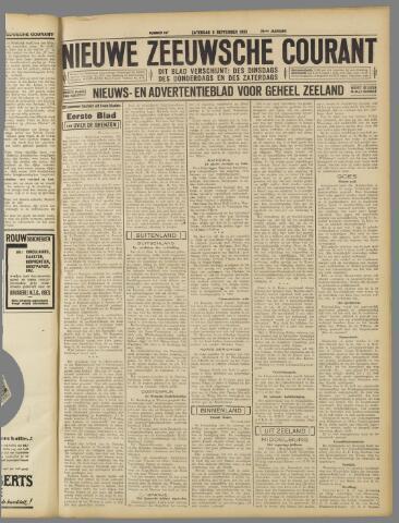 Nieuwe Zeeuwsche Courant 1933-09-09