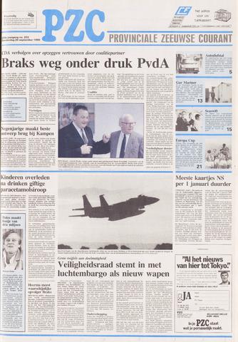 Provinciale Zeeuwse Courant 1990-09-20