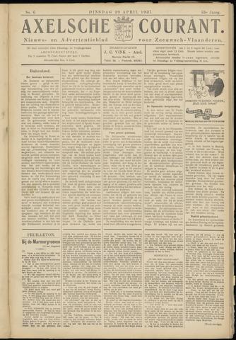Axelsche Courant 1937-04-20