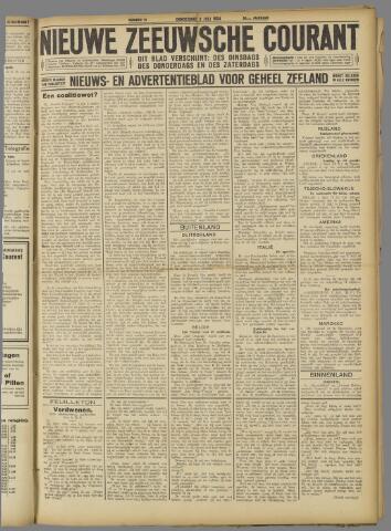 Nieuwe Zeeuwsche Courant 1924-07-03