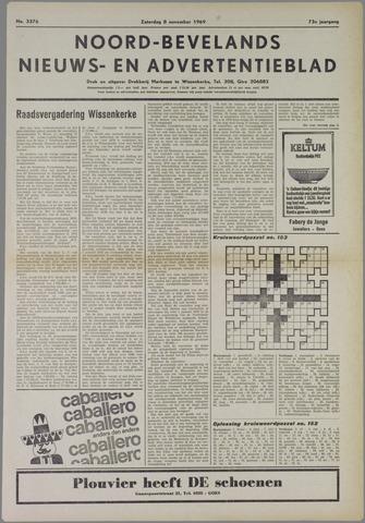 Noord-Bevelands Nieuws- en advertentieblad 1969-11-08