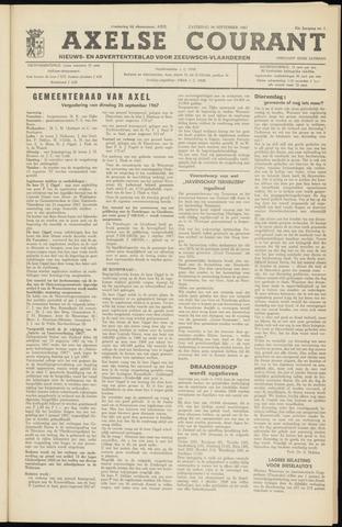 Axelsche Courant 1967-09-30