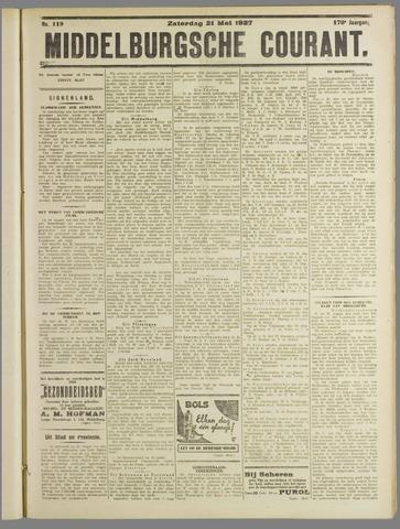 Middelburgsche Courant 1927-05-21