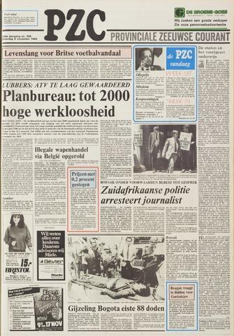 Provinciale Zeeuwse Courant 1985-11-09