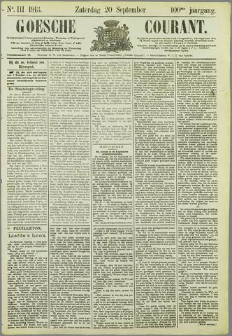 Goessche Courant 1913-09-20