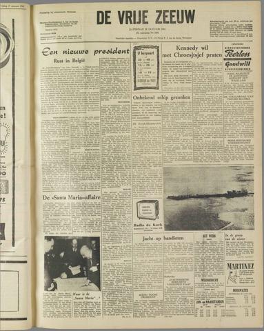 de Vrije Zeeuw 1961-01-28
