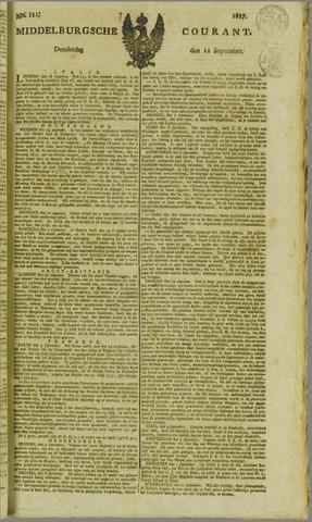 Middelburgsche Courant 1817-09-11
