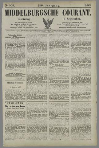 Middelburgsche Courant 1883-09-05