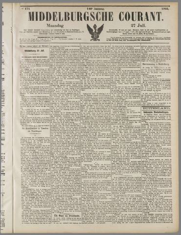 Middelburgsche Courant 1903-07-27