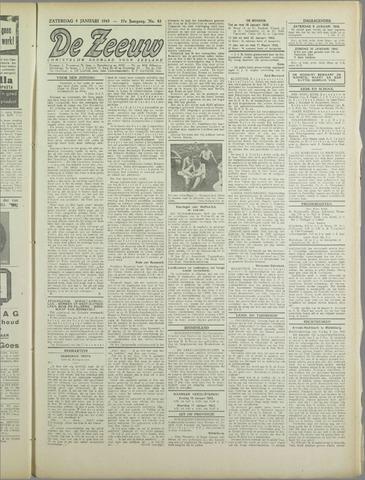 De Zeeuw. Christelijk-historisch nieuwsblad voor Zeeland 1943-01-09