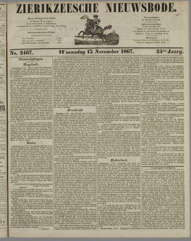 Zierikzeesche Nieuwsbode 1867-11-13