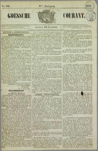 Goessche Courant 1855-12-24
