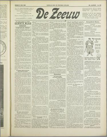 De Zeeuw. Christelijk-historisch nieuwsblad voor Zeeland 1934-07-13