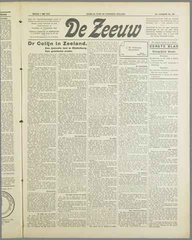 De Zeeuw. Christelijk-historisch nieuwsblad voor Zeeland 1937-05-07