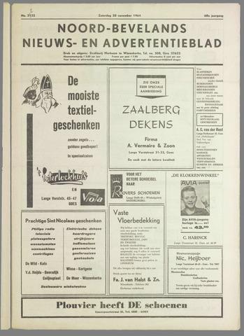 Noord-Bevelands Nieuws- en advertentieblad 1964-11-28