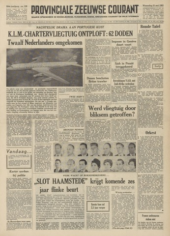 Provinciale Zeeuwse Courant 1961-05-31