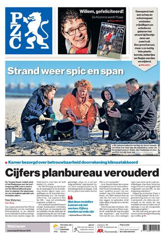 Provinciale Zeeuwse Courant 2019-02-20