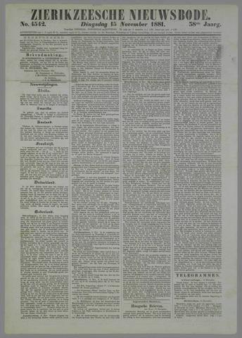 Zierikzeesche Nieuwsbode 1881-11-15