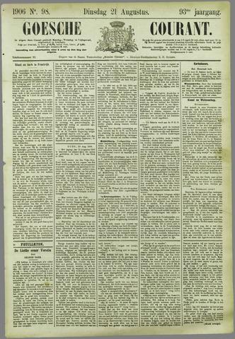 Goessche Courant 1906-08-21