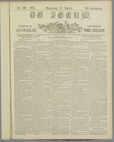 De Zeeuw. Christelijk-historisch nieuwsblad voor Zeeland 1912-03-11
