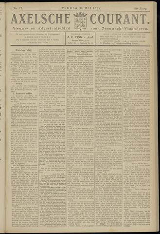 Axelsche Courant 1924-05-30