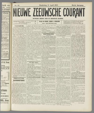 Nieuwe Zeeuwsche Courant 1907-04-11