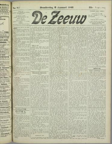 De Zeeuw. Christelijk-historisch nieuwsblad voor Zeeland 1921-01-06