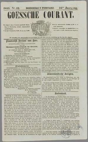 Goessche Courant 1865-02-09