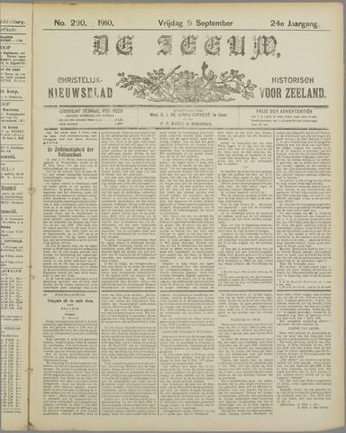 De Zeeuw. Christelijk-historisch nieuwsblad voor Zeeland 1910-09-09
