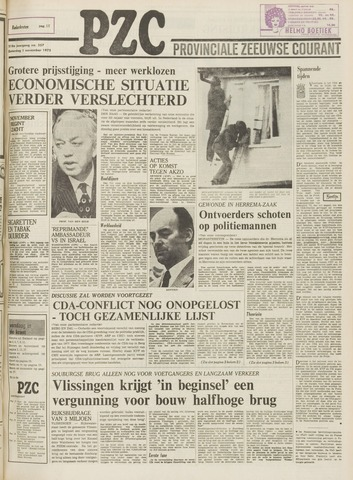 Provinciale Zeeuwse Courant 1975-11-01