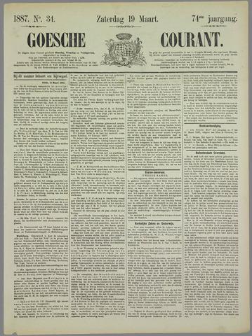Goessche Courant 1887-03-19